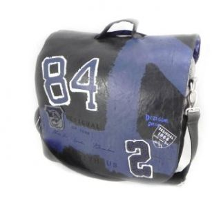 Shoulder bag computer Desigual blue black. Clothing