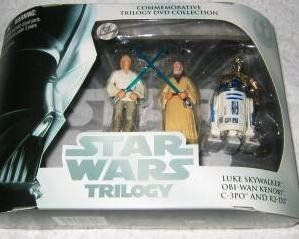 Wal mart Exclusive Commemorative Star Wars Trilogy 4 pack