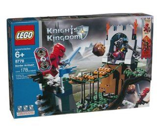 Lego Knights Kingdom Border Ambush, 8778, 178 Pieces Toys & Games