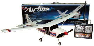 Ch 8.4V RC Radio Control Airbus Cessna 182 Airplane Toy: Toys & Games