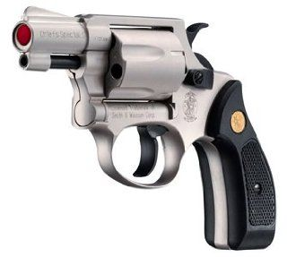 Smith & Wesson Chiefs Special S, Nickel air pistol Sports