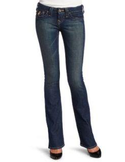 True Religion Womens Becky Bootcut Mixed Hardward Jean