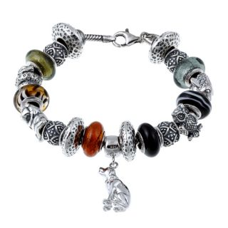 Signature Moments Sterling Silver Animal Lover Theme Bracelet