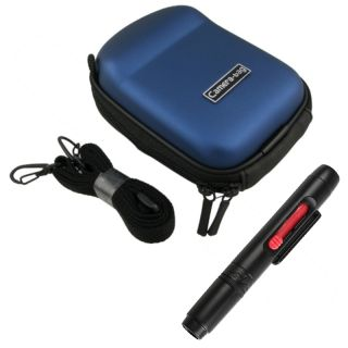 EVA Case/ Lens Cleaning Pen for Nikon CoolPix S9100/ L24