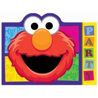 Sesame Street Party Invitations (8 per package) Toys