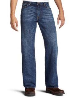 Lucky Brand Mens 181 Straight Leg Jean, Ol Caballero Wash