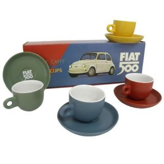 Fiat 500   Achat / Vente SERVICE A THE   CAFE Set Expresso Fiat 500