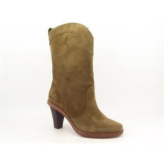 Robert Clergerie Womens Voco Regular Suede Boots (Size 8
