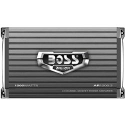 Boss ARMOR AR1200.2 Car Amplifier   230 W RMS   1.20 kW PMPO   2 Chan