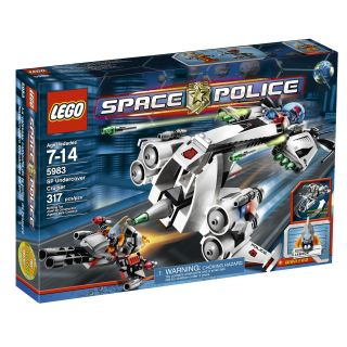 LEGO Space Police Undercover Cruise Toy Set