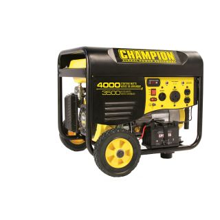 Champion 3500 Watt Portable Generator with Remote Electric Start & RV