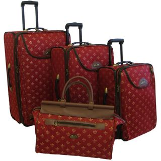 American Flyer Lyon Red 4 Piece Luggage Set See Price in Cart 4.3 (24