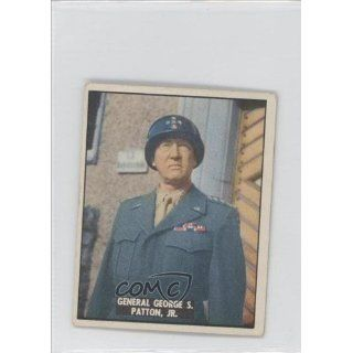 General George S. Patton Jr. (Trading Card) 1950 Freedoms War #183