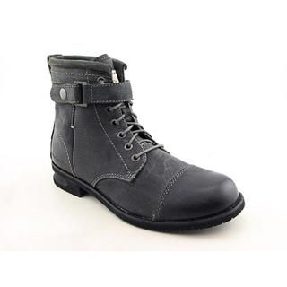 Calvin Klein Jeans Mens Ellery Leather Boots