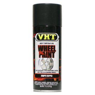 VHT SP183 Satin Black Wheel Paint Can   11 oz.