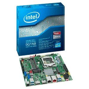 Intel Executive DQ77KB Desktop Motherboard   Intel Q77