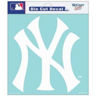 New York Yankees 8x8 Die Cut Window Cling Sports