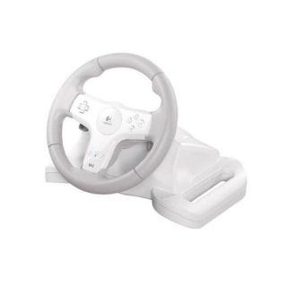 Logitech Speed Force Wireless Wheel for Wii (Refurbished)
