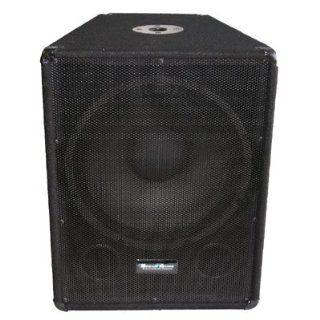 Seismic Audio   15 Subwoofer PA DJ PRO Audio Band Speaker