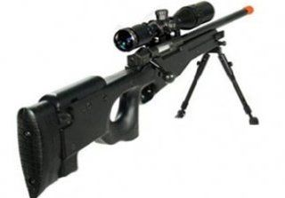 Black UTG Type 96 L96 Airsoft Sniper Rifle w/ 4x32 Scope