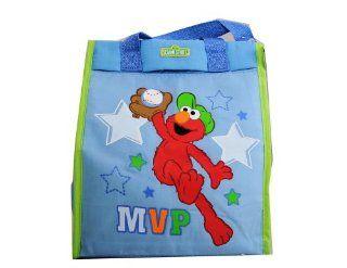 Sesame Street Elmo Baby Diaper Bag Tote Blue Baby