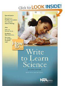 How To Write To Learn Science (PB191X1): Bob Tierney, John Dorroh
