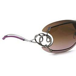 Roberto Cavalli Womens 223 Cicno Rimless Shield Sunglasses