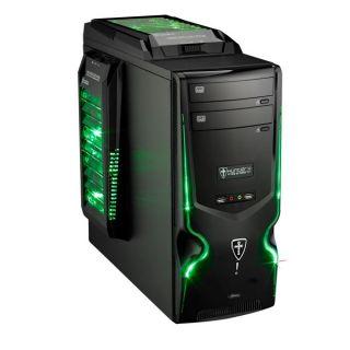 Pc Gamer Hunter Green AMD FX 4100 GeForce GTX 550 Ti Mémoire 8Go   Pc