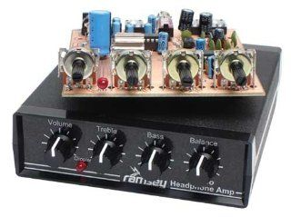 Super Stereo Headphone Amplifier Kit Electronics