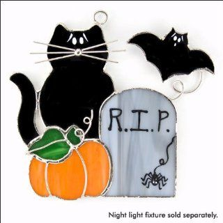 SWITCHABLES SW 192   HALLOWEEN Stained Glass Night Light Cover   Night