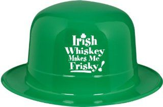 Plastic Irish Whisky Makes Me Frisky Derby (192 Pack)