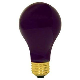 100 WATT A19 BLACK LIGHT INDUSTRIAL GRADE UV LIGHT BULB LONG LIFE