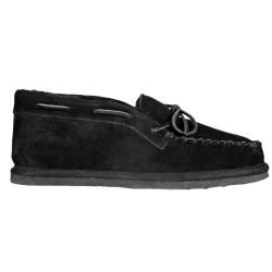Lugz Mens Dudley Suede Black Slippers