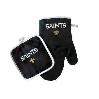 BSS   New Orleans Saints NFL Oven Mitt and Pot Holder Set