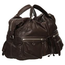 Andrew Marc Maddy Leather Satchel