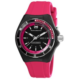 TechnoMarine Unisex Cruise Sport Rubber Strap Day Date Watch