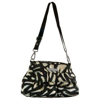 Calvin Klein Womens Printed Nylon Shoulder Bag