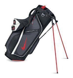 Nike 2012 Vapor X Golf Stand Bag (Black/Grey/Red) Sports