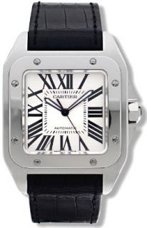 Cartier Santos 100 Mens Stainless Steel Watch