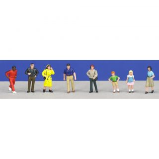 Scale People Figures (Pack of 8)