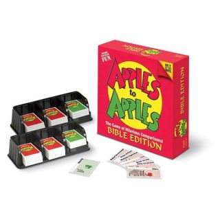 Talicor Apples to Apples Christian themed Board Game Bible Edition