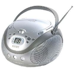 Coby Portable CD Player with AM/FM Stereo Tuner