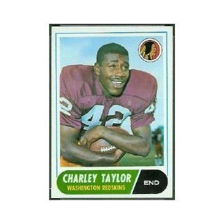 1968 Topps #192 Charley Taylor UER   FAIR: Collectibles