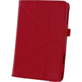 rOOCASE Origami Dual View Carrying Case (Folio) for iPad mini   Red