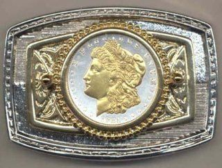 Morgan Silver Dollar (1878 1921) Two Tone U.S. Coin Belt