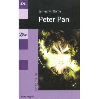 Peter pan   Achat / Vente livre James Matthew Barrie pas cher