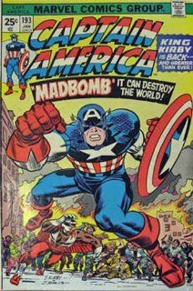 Captain America And The Falcon #193 (The Madbomb   Screamer In The