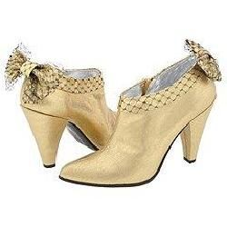 Marc by Marc Jacobs 684934 Gold Lame Boots