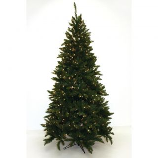 Good Tidings 96540 4.5 foot Slim PVC Allegheny Pre lit Tree Christmas