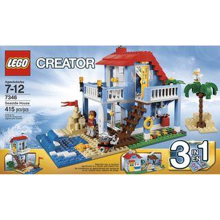 LEGO Creator Seaside House Building Toy
